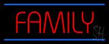 Family LED Neon Sign