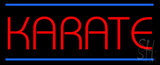 Karate LED Neon Sign