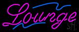 Cursive Lounge Neon Sign