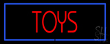 Red Toys Blue Border Neon Sign