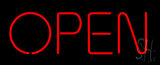 Open - No Border LED Neon Sign