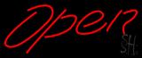 Script Open LED Neon Sign