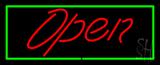 Script Open GR LED Neon Sign