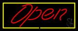 Script Open YR LED Neon Sign