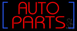 Red Auto Parts LED Neon Sign