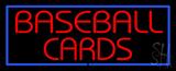 Baseball Cards LED Neon Sign