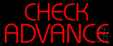 Check Advance LED Neon Sign