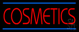 Red Cosmetics Blue Lines LED Neon Sign