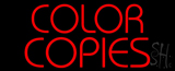 Red Color Copies LED Neon Sign