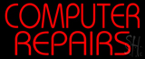 Red Computer Repairs LED Neon Sign