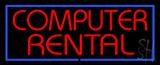 Computer Rental LED Neon Sign