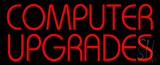 Red Computer Upgrades LED Neon Sign