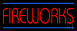 Fireworks Neon Sign