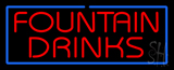 Fountain Drinks LED Neon Sign