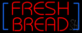 Red Fresh Bread LED Neon Sign