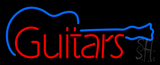 Guitars Graphic LED Neon Sign