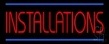 Installations LED Neon Sign