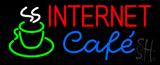 Internet Cafe Neon Sign