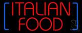 Italian Food LED Neon Sign