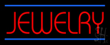 Jewelry Blue Lines LED Neon Sign