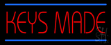 Keys Made LED Neon Sign