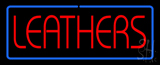 Leathers LED Neon Sign