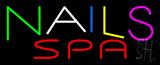 Multi Colored Nails Spa Neon Sign