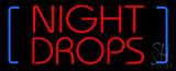 Night Drop LED Neon Sign