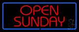 Open Sunday LED Neon Sign
