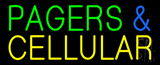 Green Pagers and Cellular LED Neon Sign