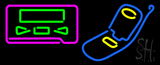 Pager Cellular Logo LED Neon Sign