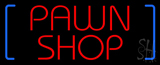 Red Pawn Shop LED Neon Sign