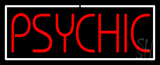 Psychic White Border Neon Sign