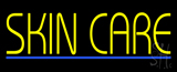 Yellow Skin Care Blue Line LED Neon Sign