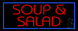 Soup and Salad LED Neon Sign