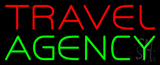 Travel Agency Block Neon Sign