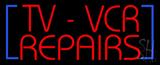 TV - VCR Repair LED Neon Sign