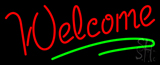 Red Welcome Bar Neon Sign