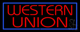 Western Union LED Neon Sign