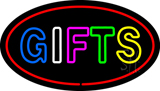 Double Stoke Gifts Oval LED Neon Sign