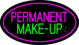 Permanent Make-Up Oval Pink LED Neon Sign