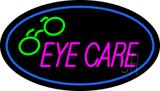 Oval Eye Care Logo LED Neon Sign