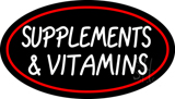 Supplements and Vitamins LED Neon Sign