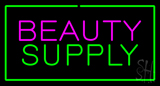 Pink Beauty Green Supply Green Border LED Neon Sign