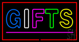 Gifts Double Stroke Pink Line LED Neon Sign