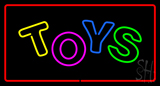 Toys Rectangle Red LED Neon Sign