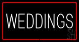 Weddings LED Neon Sign