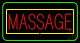 Red Massage Yellow Green Border LED Neon Sign