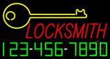 Locksmith Neon Sign