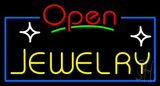 Jewelry Open Red Neon Sign